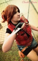 Claire Redfield - Warrior by ChaoticClaire
