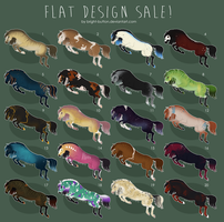 $6 FLAT DESIGN SALE - ALL SOLD by Bright-Button
