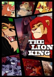 THE LIONKING by sasamaru-lion