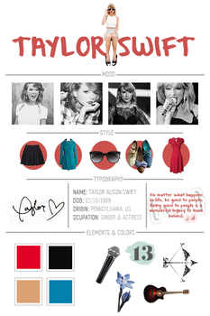 01. Character board - Taylor Swift by rousvisuals