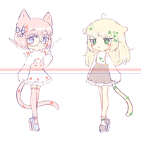 [open] random adopts by Seraphy-chan