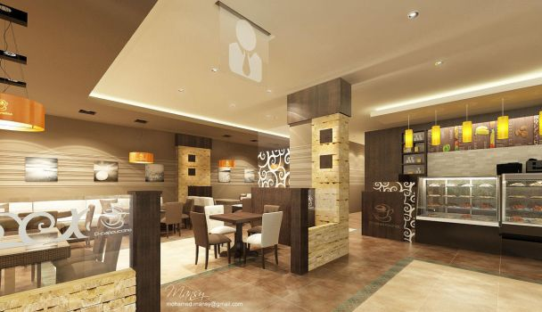 D-Cappuccino Cafe Business Section by mohamedmansy