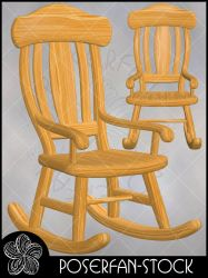 Rocker Chair 002 by poserfan-stock