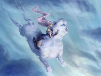 Cloud Rider by Meonika