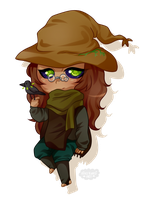 Discount Chibis #14 -  Ananomousey (1/2) (Gift) by blushingbats