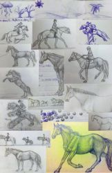 Sketches! by horsesrlife