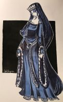 Royal blue. by inktopia