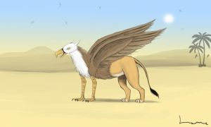Griffin by Louisetheanimator