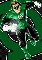 Hal Jordan Green Lantern by Thuddleston