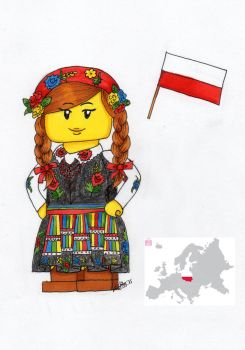 Country Lego Tag by Aiclo