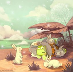 Monster Galaxy - Sunday Nap by ethe