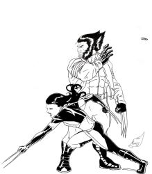 Weapon X and X-23 by Ari-Spike-Nadelman