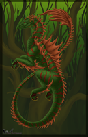 Guardian of the Grove by Dark-Fire-Dragoness
