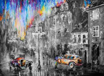 LONG DAY  Limited edition giclee by Leonidafremov
