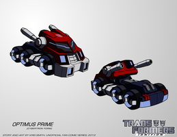TF:Ignition - Optimus Prime (Cyb. Vehicle Mode) by KrisSmithDW