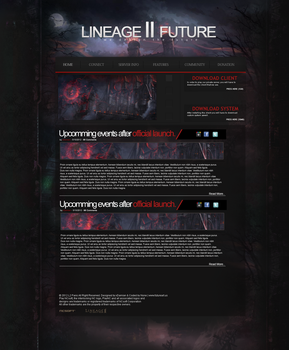 Lineage 2 Future (MMORPG Template) by xDamianART