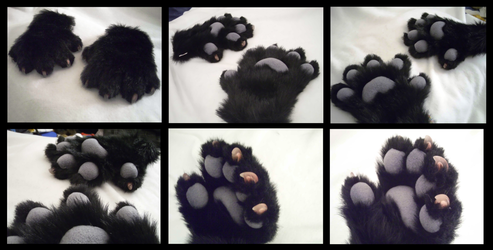 Albrecht Plushy Handpaws (featuring Quick Claws) by CuriousCreatures