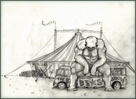 Tamed Beast Circus by dusthead-23