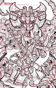 First Strike 05 Variant Cover Art - Lineart by RobDuenas