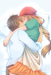 Asleep In Your Arms by annako