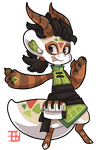 #1167 Nomnom BB - Dragon Roll by griffsnuff