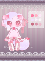 {CLOSED} ADOPT AUCTION - Pastel Goth Tailmouth Boy by Riftress