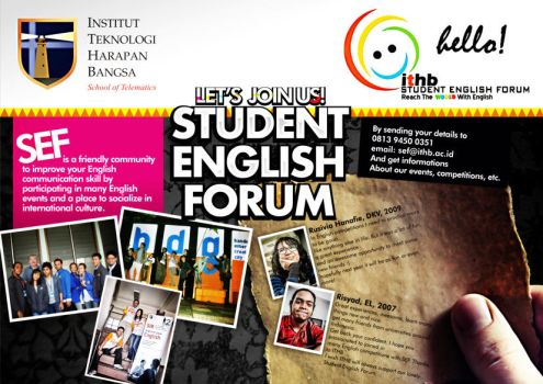 STUDENT ENGLISH FORUM by bayoukansil