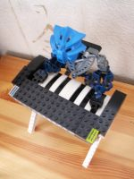 Hard Rock Bionicle - Pianist by TheMugbearer