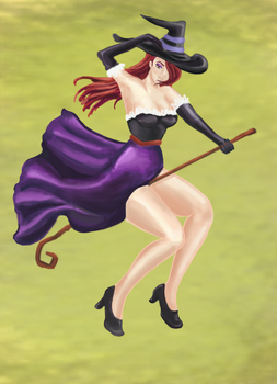 Dragon's Crown Sorceress by Angetron