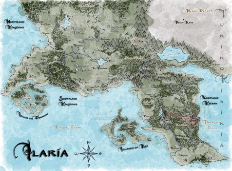 Map of Ilaria by TukikoKinikia