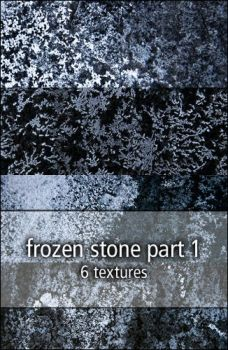 frozen stone textures part1 by rainbows-stock