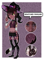 [Adopts]: Bewitched Familiar by SimplyDefault