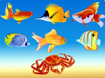 Free Vector Fish by freevectordownload
