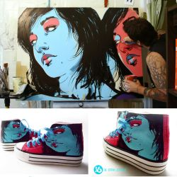 Girlz on Shoes by theirison