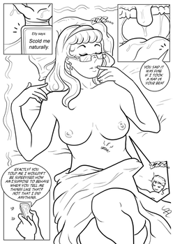 Cleaning Elly`s mouth 03 by SmushedBoy