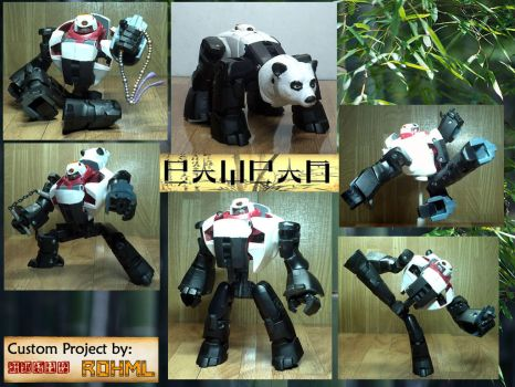 Panda Transformer by Rohml