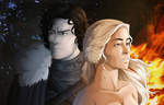 Ice and Fire by Kayla-Chan