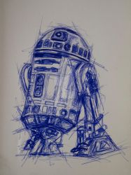 He was the droid we were looking for by tom-steve-burns