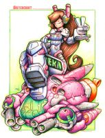 Commission: DVA - Color Pencil by RobDuenas