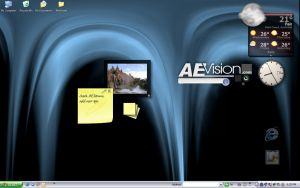 My Laptop Desktop :S by AEvision