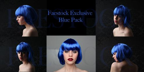 Blue Exclusive Pack by faestock
