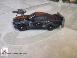 transformers customs: death race frankeinstein by puticron