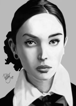 FACE STUDY #7 by pictsy