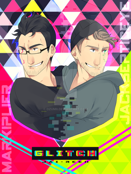 GLITCH septiplier comic cover by Ozumii