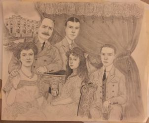 The George D. Widener Family. by I-TsarevichAlexei13