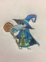 Rayman chronicles character: Teensie wizard  by nathandlneumann