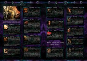 Spectra Psyclus -world intro 2 of 2-character info by R1Design