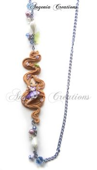 Rapunzel necklaces by AngeniaC