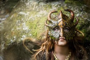 Dragon Mask - Fairytales 2 by Deakath