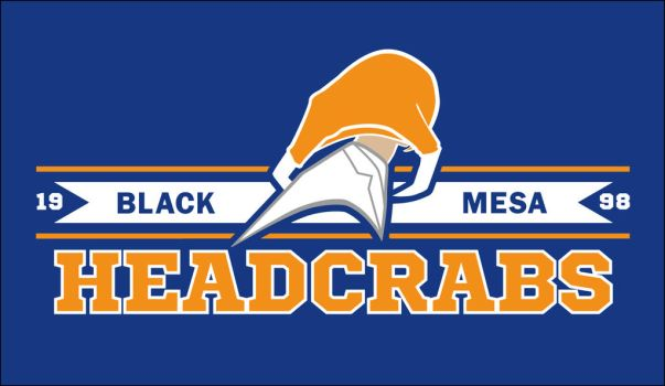The Black Mesa Headcrabs by TheRealZubes